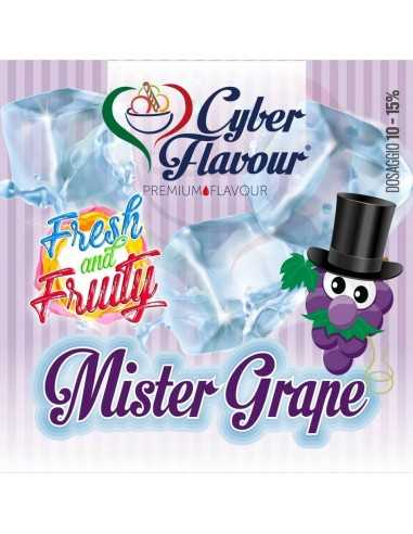 Mr Grape Fresh&Fruity aroma concentrato 20 ML - Cyber Flavour
