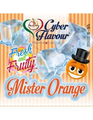 Mr Orange Fresh&Fruity aroma concentrato 20 ML - Cyber Flavour