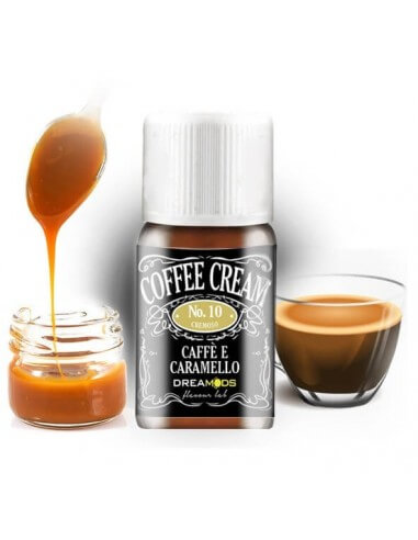 Coffe Cream No.10 Aroma Concentrato 10 ml - Dreamods