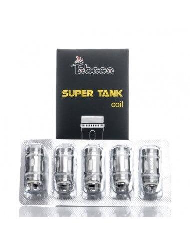 Testina Coil di ricambio Super tank mini da 0.5 ohm - Tobeco (5pz)