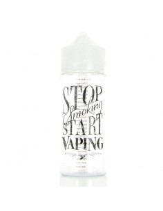 FLACONE GRADUATO TIPO CHUBBY - UNICORN - STOP SMOKING - 120ml PET
