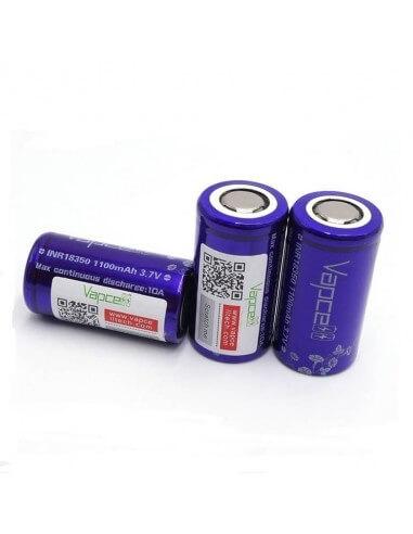 Batteria 18350 1100mAh 10A - Vapcell