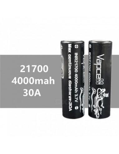 Batteria Vapcell 21700 4000mAh - 30A