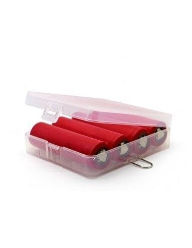 Custodia protettiva Rigida per 4 batteria 18650 - Vape Product