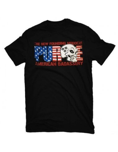 American Badassery T-Shirt - Purge Mods (Size L)
