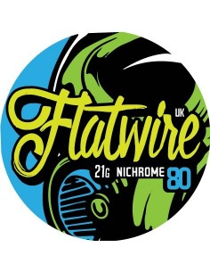 FLAT Nichrome 80 AWG 21 -...