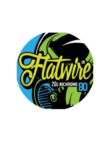 FLAT Nichrome 80 AWG 20 - Flatwire UK