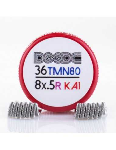 Coil Fused Staled 36/8x0.5 ID 2.5mm 0.14 ohm - Squidoode