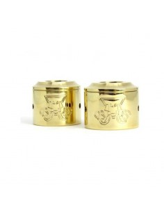 Goon Cap 25 mm - 28 mm by Mammoth Creations (brass)