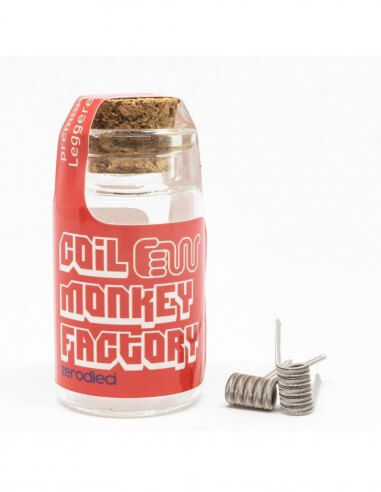 Coil ALIEN TRICORE ID 3mm 0.10ohm - Coil Monkey Factory