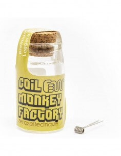 Coil ALIEN TRICORE ID 2 0.75 ohm - Coil Monkey Factory