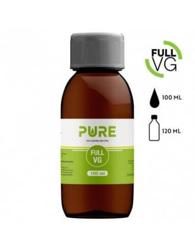 Full VG 100 ML in bottiglia da 120 ML by Pure