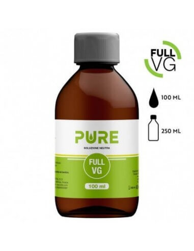 Full VG 100 ML in bottiglia da 250 ML - Pure