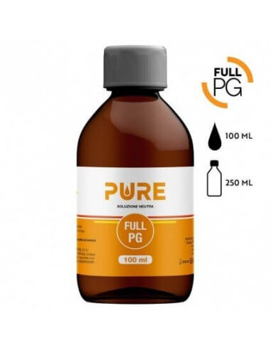 Full PG 100 ML in bottiglia da 250 ML - Pure