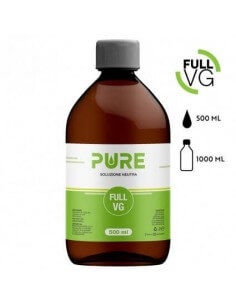 Full VG 500 ML in bottiglia da 1 L - Pure