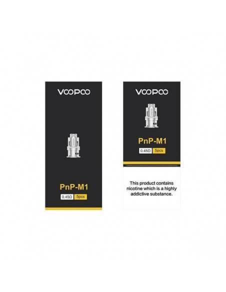 Resistenze pnp-m1 coil 0.45ohm - Voopoo (5pz)