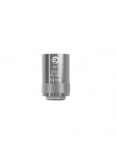 Testina Coil di ricambio BF SS316 0,6 ohm - Joyetech (5pz)
