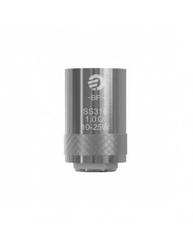Testina Coil di ricambio BF SS316 1.0 ohm - Joyetech (5pz)