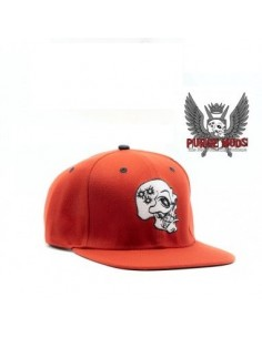 SKULL CAP - by Purge Mod - (red)