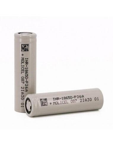 Batteria 18650 P26A 2600mAh 35A - Molicel