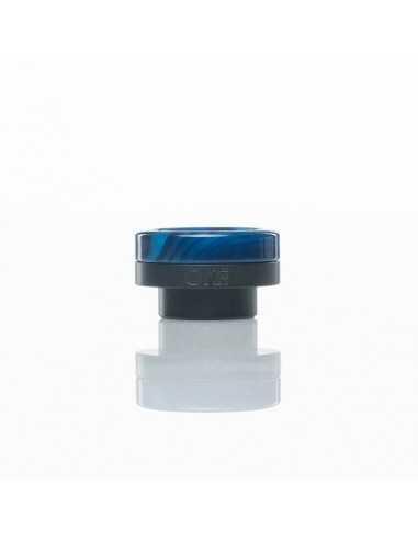 ONE TIP DISTRICT F5VE  BLACK - blue swirl