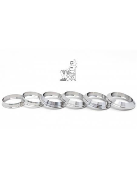 Anello estetico Machi Rings da 24 mm a 22 mm - JMK (Black)