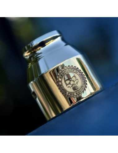 Grenade 21700 Cap JTR Logo - Comp Lyfe (Brass)