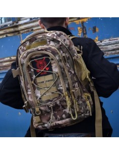 Tactical Backpack - Comp Lyfe (Camo)