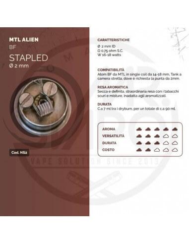 Coil STAPLED ID 2mm MTL ALIEN - Breakill's Alien Lab (BF)