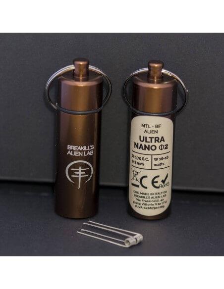 Coil ULTRA NANO ID 2mm MTL ALIEN - Breakill's Alien Lab (BF) packaging