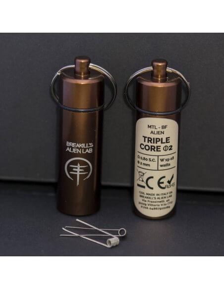 Coil TRIPLE CORE ID 2mm MTL ALIEN - Breakill's Alien Lab (BF) packaging