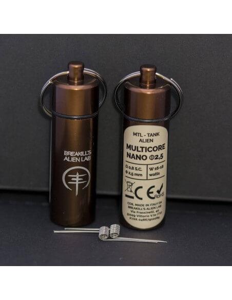 Coil MULTICORE ID 2,5mm MTL ALIEN - Breakill's Alien Lab (Tank) packaging
