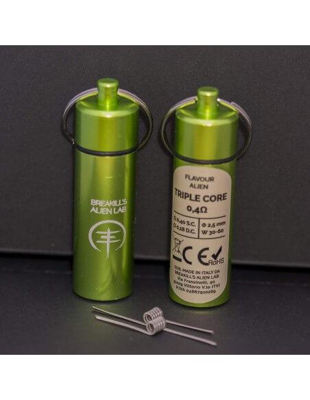 Coil TRIPLE CORE ID 2,5mm FLAVOUR ALIEN 0.4 ohm - Breakill's Alien Lab (FLAVOUR) packaging