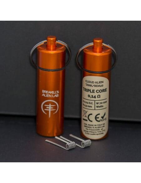 Coil TRIPLE CORE ID 2.5mm ALIEN 0.14 ohm - Breakill's Alien Lab (CLOUD) packaging