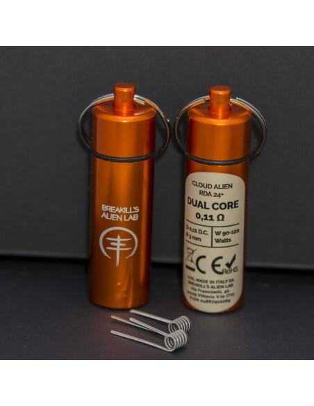 Coil DUAL CORE ID 3mm ALIEN 0.11 ohm - Breakill's Alien Lab (CLOUD) packaging