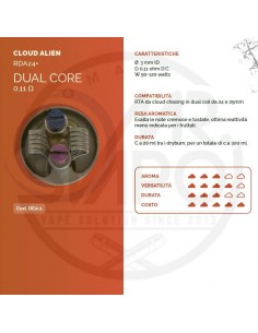 Coil DUAL CORE ID 3mm ALIEN 0.11 ohm - Breakill's Alien Lab (CLOUD)