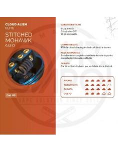 Coil STITCHED MOHAWK ID 2.5mm ALIEN 0.12 ohm - Breakill's Alien Lab (ELITE)