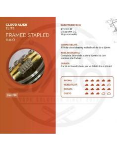 Coil FRAMED STAPLED ID 3mm ALIEN 0.11 ohm - Breakill's Alien Lab (ELITE)