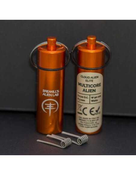 Coil MULTICORE ALIEN ID 3mm 0.10 ohm - Breakill's Alien Lab (ELITE) packaging