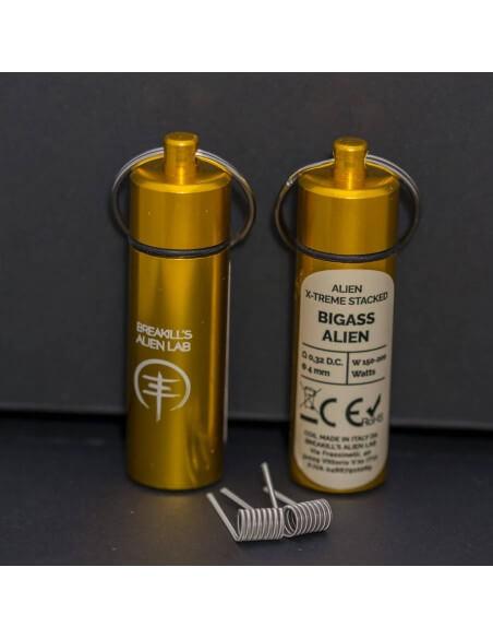 Coil BIGASS ALIEN ID 4mm 0.32 ohm - Breakill's Alien Lab (X-Treme) packaging