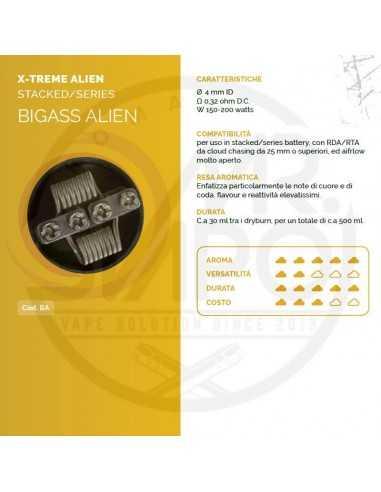 Coil BIGASS ALIEN ID 4mm 0.32 ohm - Breakill's Alien Lab (X-Treme)