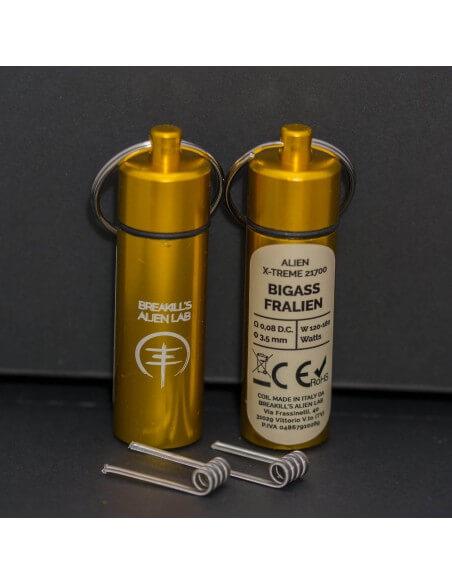 Coil BIGASS FRALIEN ID 3,5mm 0.08 ohm - Breakill's Alien Lab (X-Treme) packaging