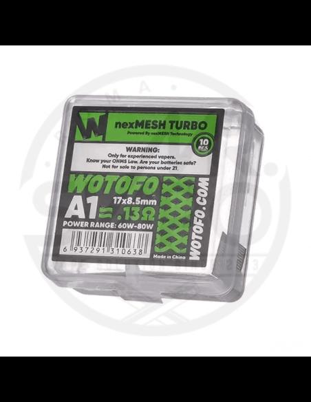 NexMESH Turbo Profile 1.5 0.13ohm - Wotofo (10pz)