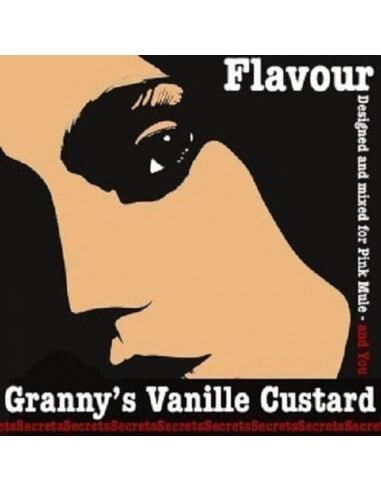 Granny's Vanille Custard Aroma Concentrato - Secrets Flavour
