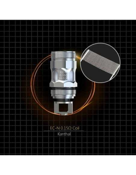 Testina Coil di Ricambio EC-N 0.15 ohm - Eleaf (5pz)