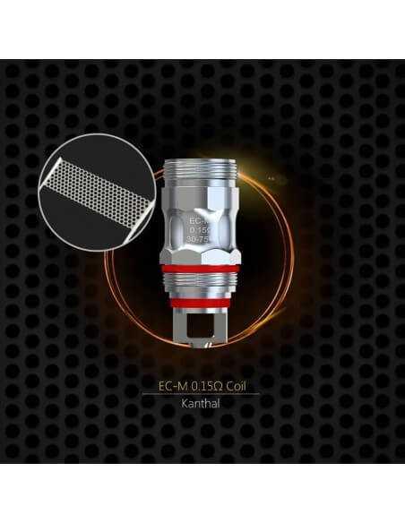 Testina Coil di Ricambio EC-M 0.15 ohm - Eleaf (5pz)