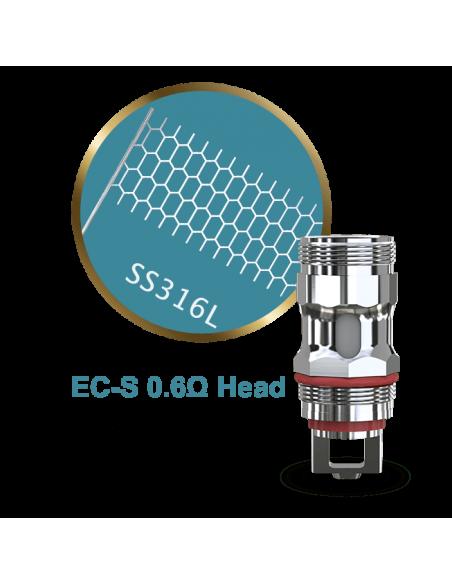 Testina Coil di Ricambio EC-S 0.6 ohm - Eleaf (5pz)