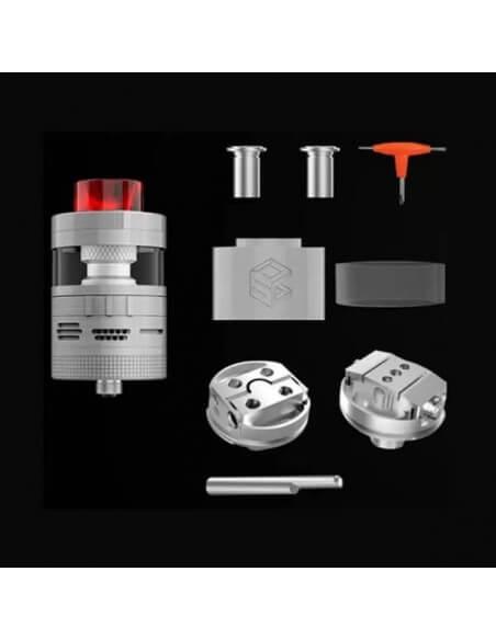 Aromamizer Plus V2 RDTA (Advance Kit) - Steam Crave (Black)