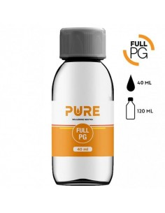 Full PG 40 ml in bottiglia da 120 ml - Pure