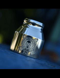 Grenade 21700 Cap Comp Lyfe Etched - Comp Lyfe (Brass)